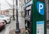 Automobilių stovėjimas sostinėje nebrangs – pinigus rinktų kitaip