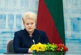 Dalia Grybauskaitė: Europai vienybė reikalinga kaip niekada anksčiau