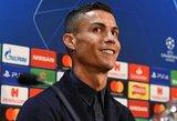 """Ronaldo išreiškė pagarbą """"Man Utd"""", tačiau nepanoro kalbėti apie """"Real"""""""