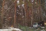 Po gausiai iškritusio sniego dar ne visi gyventojai atgavo elektrą