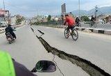Papua Naująją Gvinėją ir Saliamono salas supurtė stiprus žemės drebėjimas