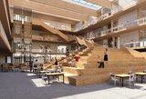 Paaiškėjo, kaip atrodys mokykla Pilaitėje – atrinkta architektūrinė idėja