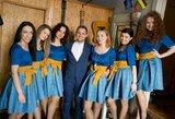 Prieš lemtingą sekmadienį Gintarinis Klaipėdos choras koncertavo moterims pataisos namuose