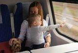 Vasaros vaikų pramoga – kelionės traukiniu