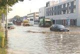 Po liūčių pavojingai užtvinstančias Kauno gatves gelbės naujovėmis