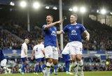 """Liverpulio """"Everton"""" rungtynių pabaigoje palaužė Londono """"Crystal Palace"""""""