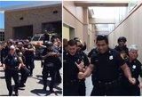 Policijos pareigūnų šokis sužavėjo milijonus: tokio reginio dar nematėte