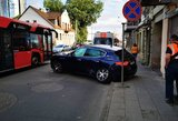 "Avarija Vilniuje: susidūrė ""Maserati"" ir ""Renault"""