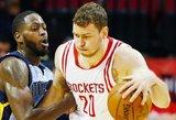 """Donatas Motiejūnas galiausiai sulaukė ilgalaikio """"Rockets"""" kontrakto"""