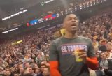 NBA žvaigždė pratrūko: grasino sudoroti gerbėją ir jo žmoną