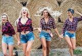 """""""Pop Ladies"""" vaizdo klipas – parduodamoje Katažinos sodyboje: nei raudono kilimo, nei fotografų blyksčių"""