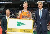 Ispanijoje – dviejų žalgiriečių akistata snaiperio konkurso finale