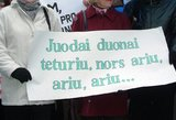 Mokytojų streikas tęsiasi: problemos sprendimas – kitą savaitę