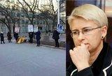 """Protestai dėl N. Venckienės ekstradicijos sukiršino internautus """"Facebook'e"""""""