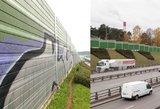 Vilnius atsinaujina: šiemet nuvalyta 1000 kv. m grafičių