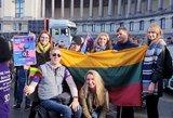 """""""Freedom Drive"""" eitynėse Briuselyje ketvirtą kartą girdėjosi ir Lietuvos neįgaliųjų balsas"""