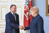 Premjeras skaudžiai atkirto Daliai Grybauskaitei