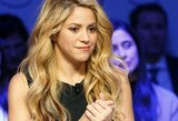 Shakira parodė visiškai naturalų veidą: kaip ji atrodo be makiažo?