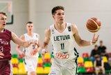 Tubelio vedami Lietuvos jauniai dar kartą įveikė latvius