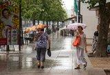 Savaitės vidurio orai: ir toliau bus apniukę, permainų reikės palaukti