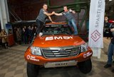Į pirmąjį Dakaro iššūkį sparnus pakėlęs Darius Vaičiulis: laikas dar vienam nuotykiui
