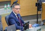 V. Bakas siūlys išslaptinti VSD atsakymus į parlamentarų klausimus