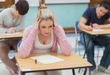 Apie minimalius stojimo balus ministerijai pranešė daugiau kaip pusė aukštųjų mokyklų