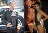 """B. Afflecko gyvenimo smūgiai – praeityje: susitikinėja su """"Playboy"""" modeliu"""