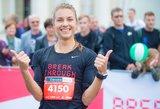 Vilniaus maratone – labdaringas Eglės Balčiūnaitės finišas ir organizatorių padvigubintas prizas