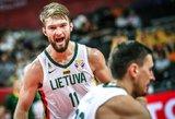 Lietuvos rinktinė nukovė Kanadą ir pateko į kitą pasaulio taurės etapą