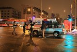 Vyrų konfliktas gatvėje baigėsi nelaime – vieną žmogų partrenkė automobilis