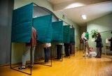 Renkant tris Seimo narius valią pareiškė pusė procento rinkėjų