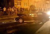 Vilniuje prisiskraidė girtas BMW vairuotojas