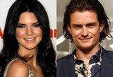 Kendall Jenner ir Orlando Bloomas pastebėti kartu – ar gims nauja pora?