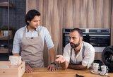 Savaitgalio pietums: išskirtiniai receptai iš dviejų charizmatiškų virtuvės šefų