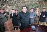 Šiaurės Korėja paskelbė miniatiūrizavusi savo branduolinius užtaisus