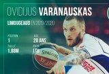 """Karjeros šuolis: Varanauskas taps """"Ryto"""" varžovu Europos taurėje"""