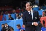 """Milano """"Emporio Armani"""" pasamdė naują trenerį"""