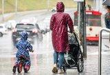 Subjurę orai Lietuvoje: skėtis ir toliau bus jūsų kompanionas, tačiau yra ir džiugi žinia