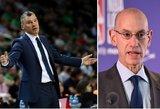 """NBA vadovas apie Europos klubų invaziją: """"Tai sumenkintų lygos kokybę"""""""