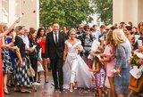 E. Puidokatės-Atlantos vestuvėse – ypatingai puošnūs svečiai: moterų įvaizdis nustebins