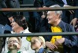 Šanso pamatyti Ronaldo nepraleido ir Nausėda –su žmona stadione palaikė lietuvius