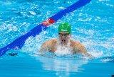 Andrius Šidlauskas pateko į 100 m krūtine pasaulio čempionato finalą