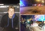 Sprukdamas nuo policijos girtas kelių gaidelis Panevėžyje rėžėsi į atitvarus