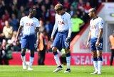 """""""Tottenham"""" paleido vėjais progą užsitikrinti vietą Čempionų lygoje"""