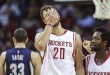 """Blogos žinios """"Rockets"""" gerbėjams – Donato Motiejūno sezonas baigtas!"""