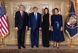 Nausėda susitiko su Trumpu ir pakvietė atvykti į Lietuvą