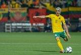 Lietuvos futbolo rinktinės laukia istorinis iššūkis – akys kryps į tolimąją Aziją