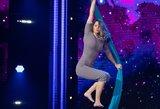 Oro akrobatės šou sužavėjo teisėjus: negailėjo liaupsių