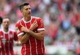 """Vokietijoje – Roberto Lewandowski dublis ir nelengva """"Bayern"""" pergalė"""